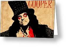 Alice Cooper 1 Greeting Card