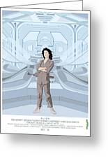 Alien 1979 Movie Poster - Feat. Ripley Greeting Card