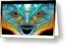 Alien Esp Greeting Card