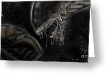 Alien Vs Predator Greeting Card