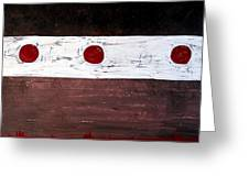 Alignment Original Painting Greeting Card