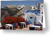 All About The Greek Lifestyle Greeting Card