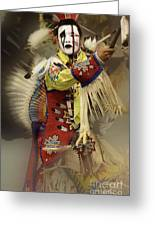Pow Wow All About Time Greeting Card