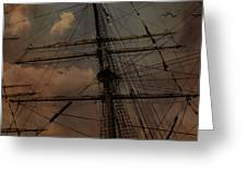 All I Ask Is A Tall Tall Ship Greeting Card