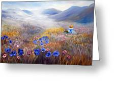 All In A Dream - Impressionism Greeting Card