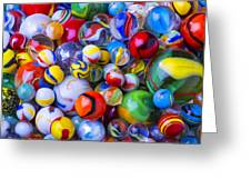 All My Marbles Greeting Card
