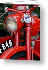 All Original English Motorcycle Greeting Card