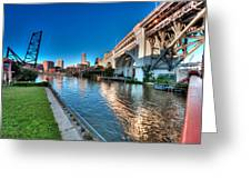 All Roads Lead To Cleveland Greeting Card