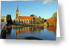 All Saints Church Marlow Greeting Card