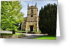 All Saints Church Weston Bath Greeting Card