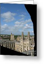 All Souls College And Beyond Greeting Card