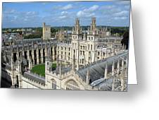 All Souls College Greeting Card