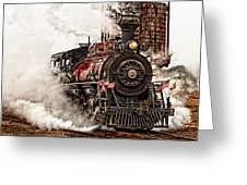 All Steamed Up Greeting Card