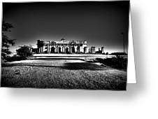 Mysterious Ruins Greeting Card