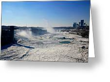 All The Falls Greeting Card