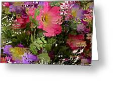 All The Flower Petals In This World 3 Greeting Card