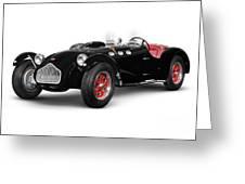 Allard J2x Vintage Sports Car Greeting Card