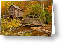 Allegheny Autumn Greeting Card