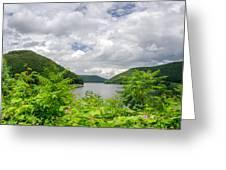 Allegheny Reservoir Greeting Card