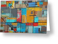 Alley 1 Greeting Card