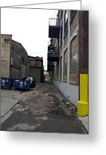 Alley 11 Greeting Card