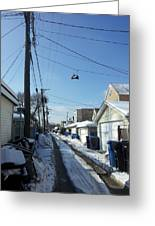 Alley 27 Greeting Card