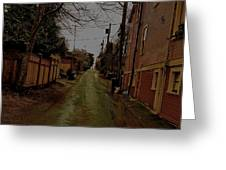 Alley 3 Greeting Card