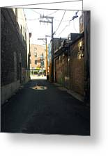 Alley 40 Greeting Card