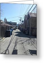 Alley 43 Greeting Card