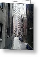 Alley 5 Greeting Card