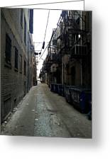 Alley 7 Greeting Card