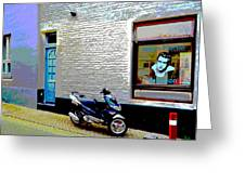 Alley In Venlo Greeting Card