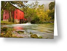 Alley Spring Mill - Eminence Missouri Greeting Card