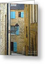 Alleys Of Sarlat II Greeting Card