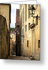 Alleys Of Sarlat Greeting Card
