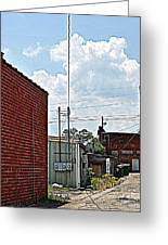 Alleyway Greeting Card by Beverly Hammond