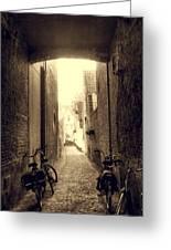 Alleyway Greeting Card