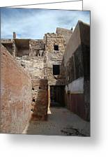 Alleyway Morocco Greeting Card