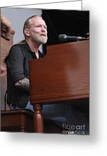 Allman Brothers Band - Gregg Allman Greeting Card