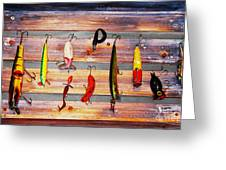 Alluring To Fishermen Greeting Card