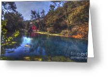 Ally Springs Mill  The Fall Greeting Card