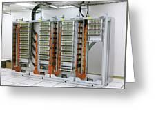 Alma Fibre Optics Panels Greeting Card