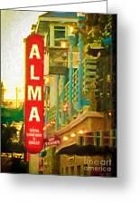 Alma Greeting Card