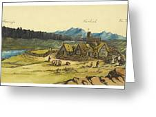 Almanna Gorge Circa 1862 Greeting Card by Aged Pixel