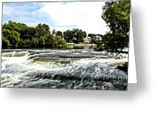 Almonte Falls Greeting Card