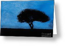 Almost Dark Greeting Card
