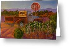 Almost Home - Art By Bill Tomsa Greeting Card