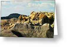 Almost Moonscape Greeting Card