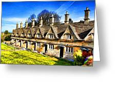 Almshouses Greeting Card