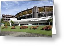 Aloha Stadium Greeting Card